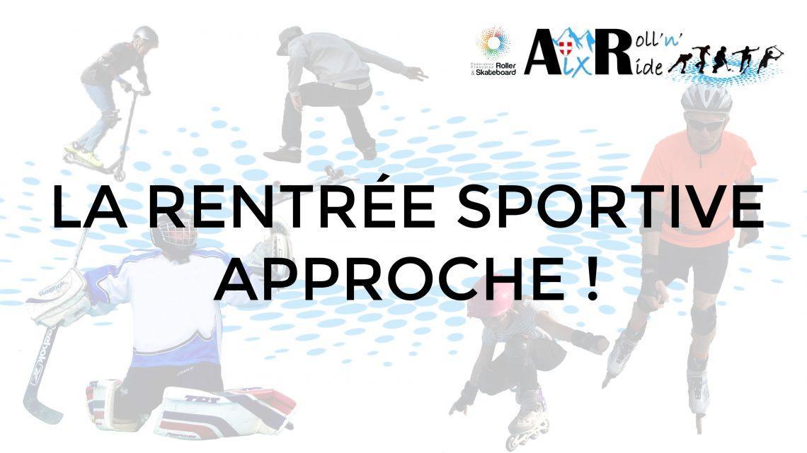 Aix Roll'n'Ride - COVID - Rentrée sportive 2020