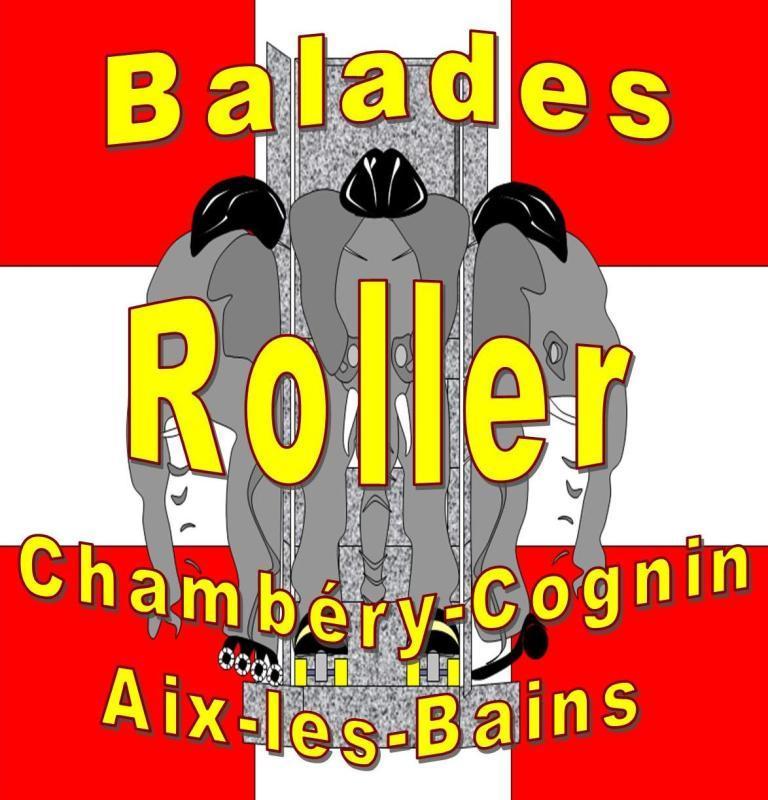Logo Balades Roller Chambéry Cognin Aix les bains