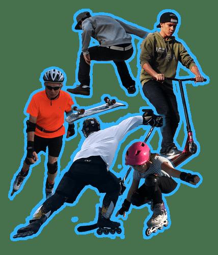 Aix Roll'n'Ride - Image disciplines