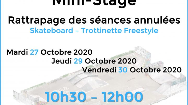 Aix Roll'n'Ride - Affiche stage skate trott
