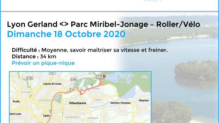Aix Roll'n'Ride - Affiche balade roller lyon