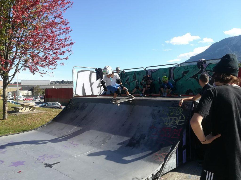Aix Roll'n'Ride - Photo skateboard