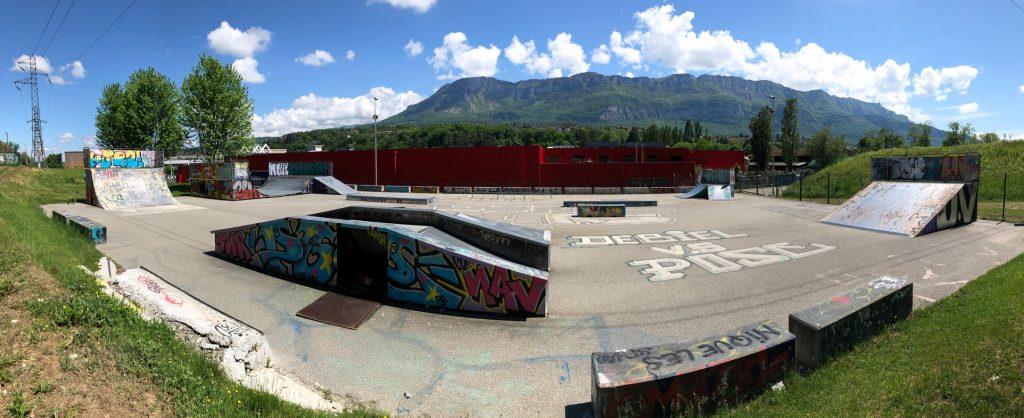 Aix Roll'n'Ride - Photo skatepark Aix les bains