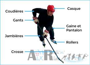 Aix Roll'n'Ride - Equipement joueur roller hockey