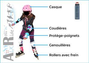 Aix Roll'n'Ride - Equipement école de roller