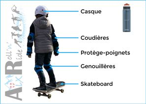 Aix Roll'n'Ride - Equipement skateboard