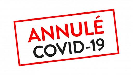 Logo annulé covid
