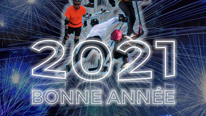 Aix Roll'n'Ride - Bonne année 2021