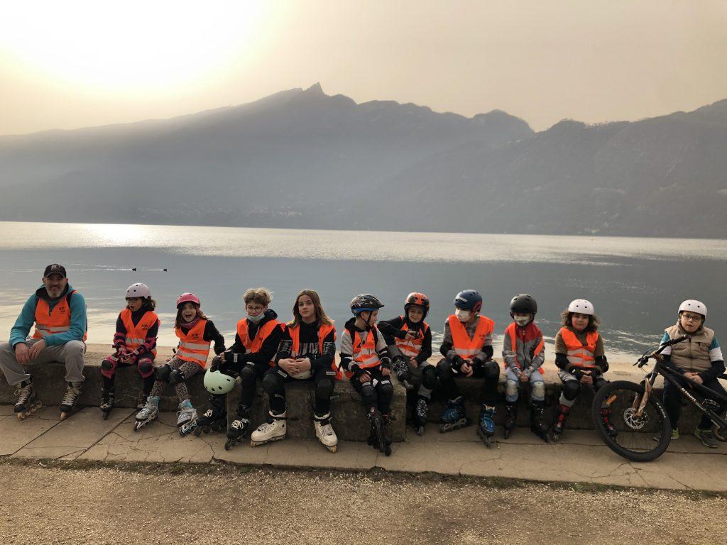 Aix Roll'n'Ride - Photo balade roller enfant