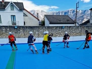 Aix Roll'n'Ride - Photo roller hockey senior