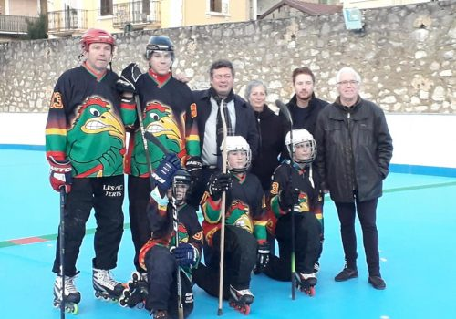 Aix Roll'n'Ride - Photo roller hockey les pics verts maire