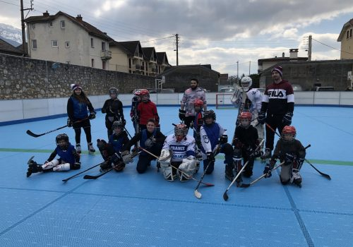 Aix Roll'n'Ride - Photo roller hockey junior